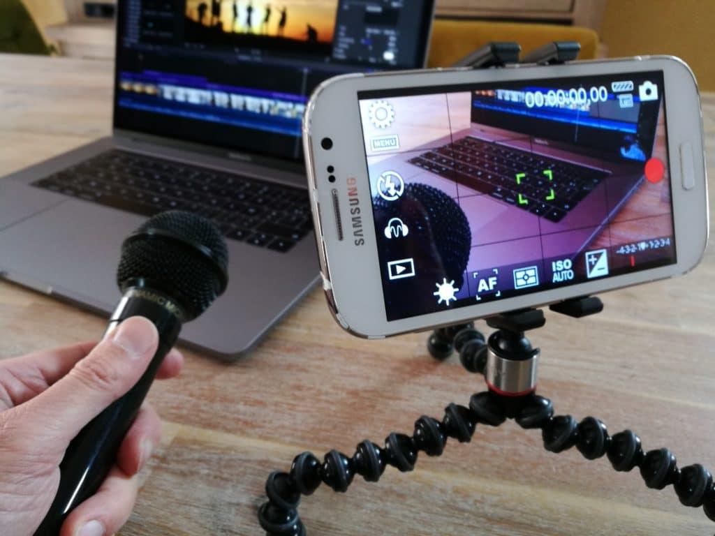 Réaliser des vidéos avec son téléphone