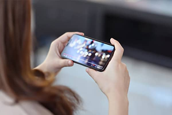 visuel smartphone